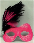 Hot-Pink-Camille-Glittered-Adult-Mask