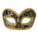 Black-Gold-Venetian-Mask-with-Comfort-Arms
