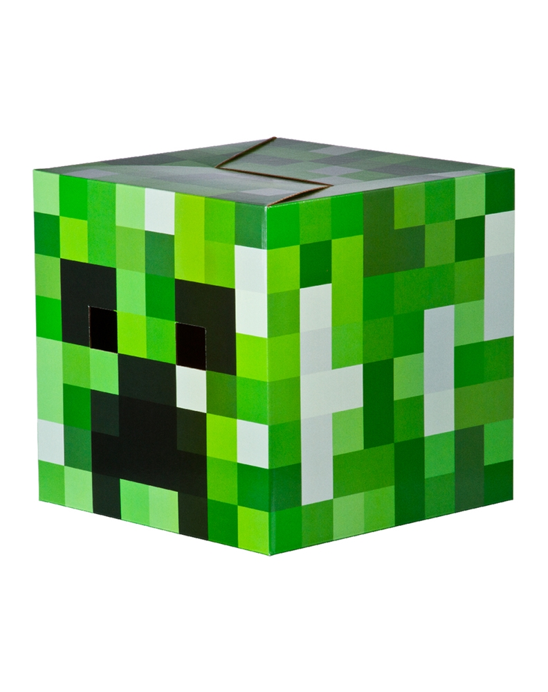 Minecraft Cardboard Creeper Head