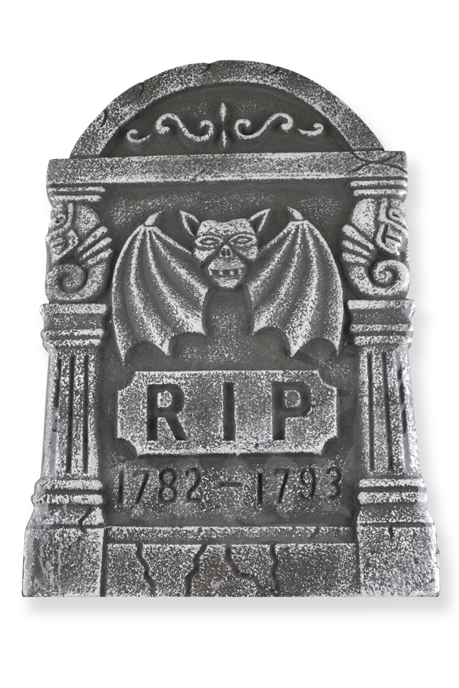 rip tombstone 18in (more styles)