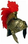 Gold-Roman-Adult-Helmet