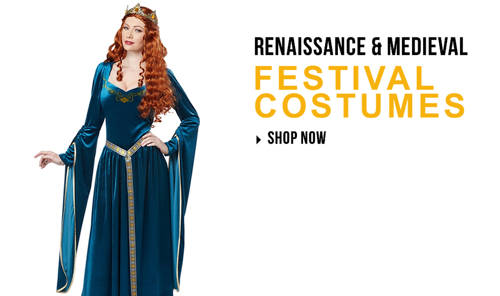 Renaissance Faire Costumes via Trendy Halloween