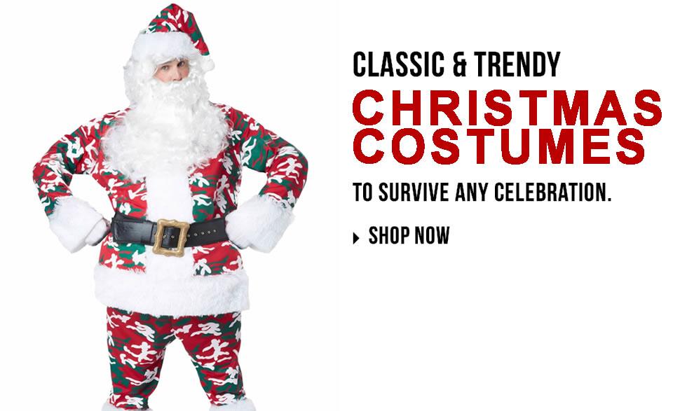 Christmas Costumes via Trendy Halloween
