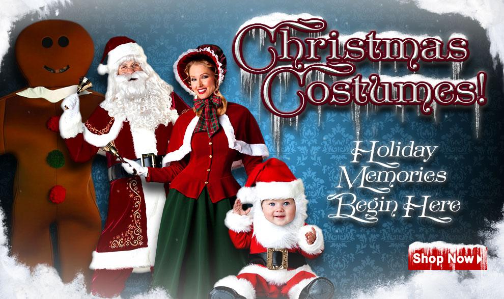 Christmas Costumes via Trendyhalloween.com