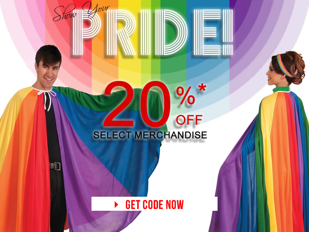 Gay Pride Sale via Trendy Halloween