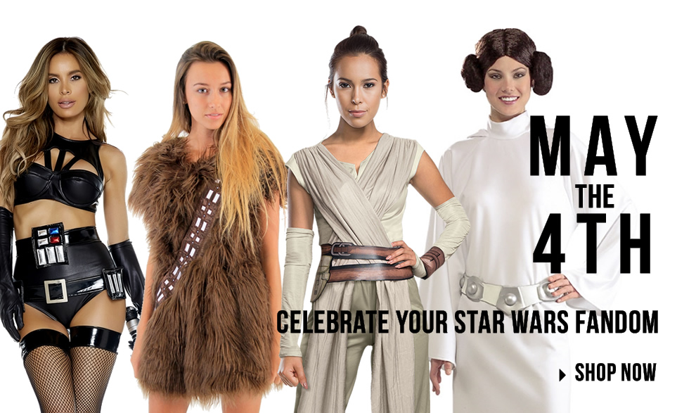 Star Wars Costumes via Trendyhalloween.com