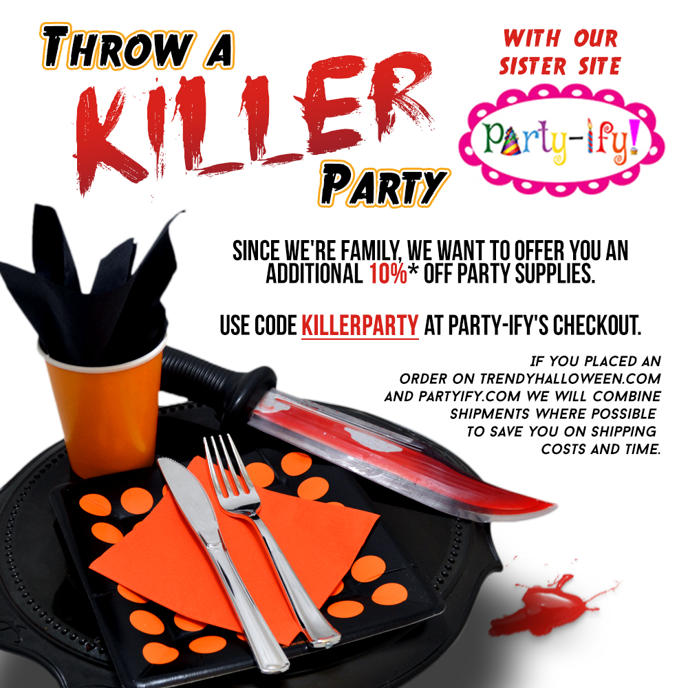 Party Supplies by Party-ify! Trendy Halloween's sister store