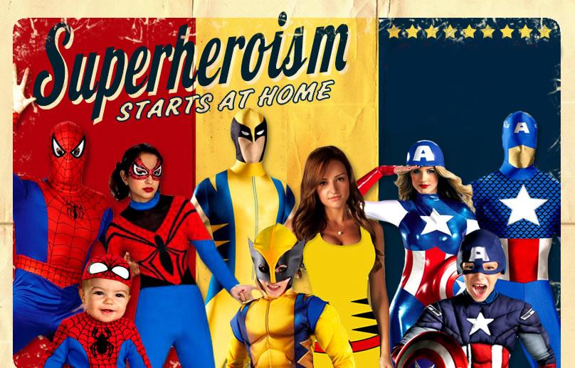 SUPERHERO u0026 VILLAIN COSTUMES  sc 1 st  Trendy Halloween & Superhero u0026 Villain Costumes | TrendyHalloween.com